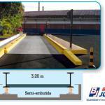 Balança de pesagem rodoviária