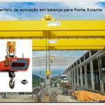 Balança para ponte rolante