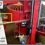 Sistema de pesagem para silos